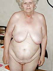 Ugly aged lasses baring it all on picture