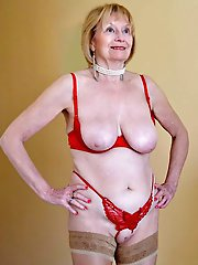 Lovely mature babes having huge jugs