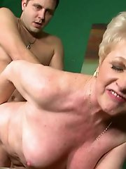 Outstanding older housewives getting nude on picture