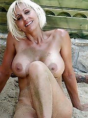 Outstanding mature females having wet hole
