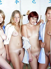 French mature ladies get nude